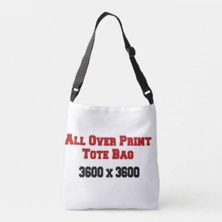 Custom All-Over-Print Cross Body Bag Template