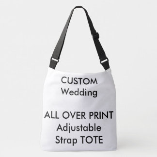 Custom ALL OVER PRINT Strap LARGE Tote