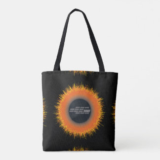 Custom All-Over-Print Tote Bag CHAOS SUN