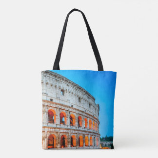 Custom All-Over-Print Tote Bag Colosseum