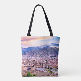 Custom All-Over-Print Tote Bag Cusco