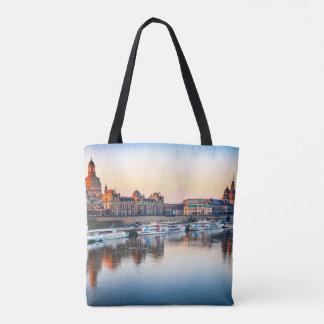 Custom All-Over-Print Tote Bag Dresden