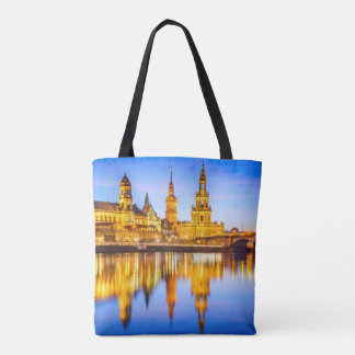 Custom All-Over-Print Tote Bag Dresden
