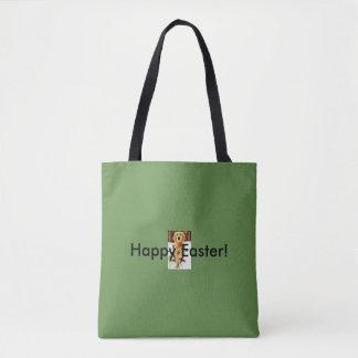 Custom All-Over Print Tote Bag Green