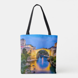 Custom All-Over-Print Tote Bag Mostar