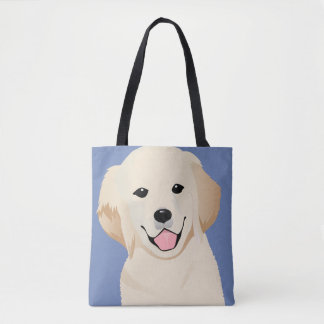 Custom All-Over-Print Tote Bag Retriever
