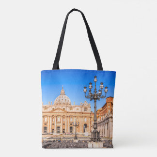 Custom All-Over-Print Tote Bag Vatican