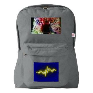 Custom American Apparel™ Backpack, smoke gray Backpack