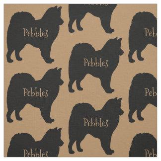 Custom American Eskimo Dog Breed Fabric