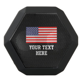 Custom American flag wearable bluetooth speaker