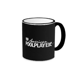 Custom American Pool Player - White Mugs