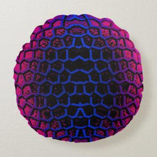 Custom Angerautes polyester round Dekokissen (41) Round Pillow