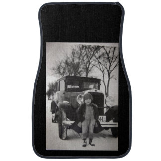 Custom Antique Set of Car Mats