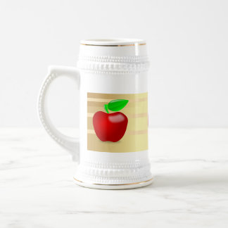 Custom Apple Beer Stien2 20oz Mug ZAZZ_IT