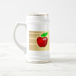 Custom Apple Beer Stien 20oz Mug ZAZZ_IT