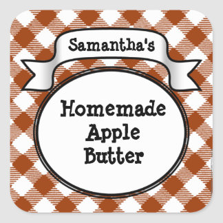 Custom Apple Butter or Anything Canning Jar Label