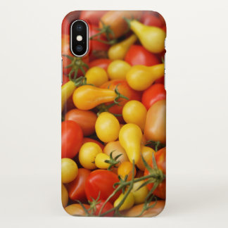 Custom Apple iPhone X Glossy Case/pear tomatoes iPhone X Case