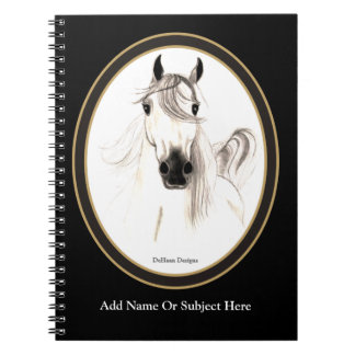 Custom Arabian Horse Notebook