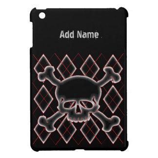 Custom Argyle Skull Mini iPad Cases