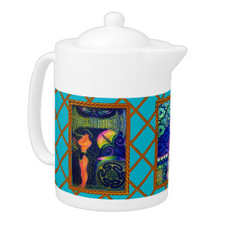Custom Art Gallery Teapot