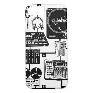 custom Assemble Your Hustle Music Mixology iPhone 7 Case