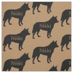 Custom Australian Cattle Dog Breed Fabric