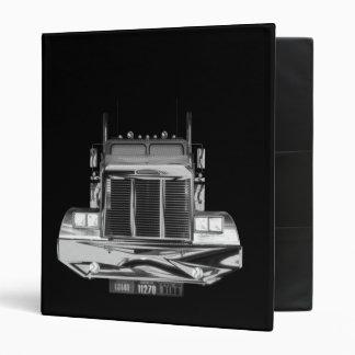 Custom Avery Trucker Log Book Binder