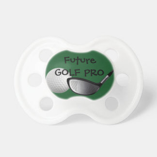 Custom Baby Gift, Future Golf Pro Pacifier