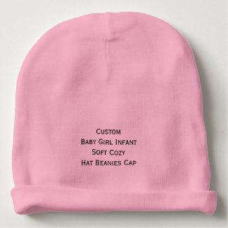 Custom Baby Girl Infant Soft Cozy Hat Beanies Cap Baby Beanie