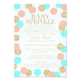 "Custom Baby Sprinkle 5"" X 7"" Invitation Card"