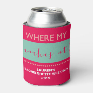 Custom Bachelorette Beach Party Can Cooler