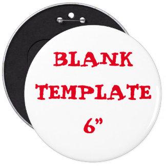 "Custom Bachelorette Blank Template 6"" Button"