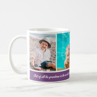 Custom Background Color 3 Photo Mug