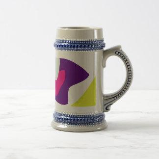 Custom Background Color Cheerful Boy Mug