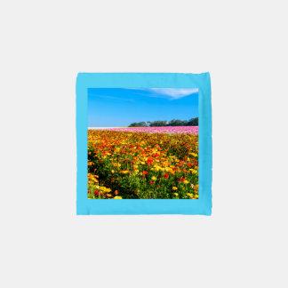 Custom BAGGU Reusable Bag flowers fields
