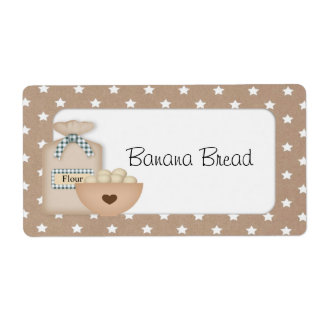 Custom Baked Goods Label Shipping Label