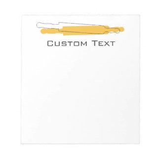 Custom Baker Bakery  Shopping List Notepad