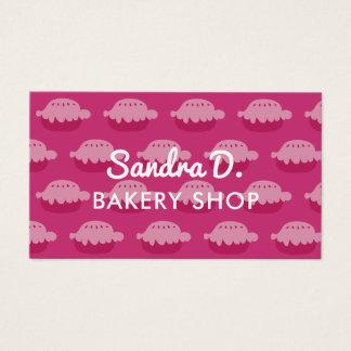 Custom bakery shop business card template design