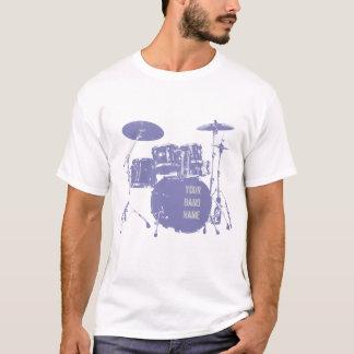 Custom band drum kit T-Shirt