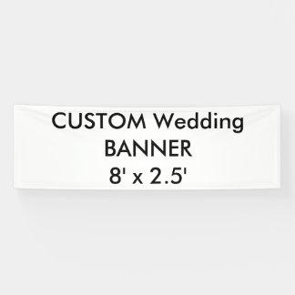 Custom Banner 8' x 2.5'