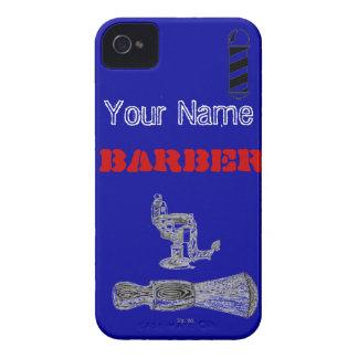 Custom Barber IPhone Case iPhone 4 Case-Mate Cases