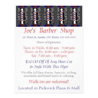 Custom Barber Shop / Advertisement / Flyer
