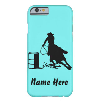 Custom Barrel Racer Cowgirl Rodeo Phone Case