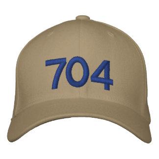 Custom Baseball Cap Charlotte NC representing 704