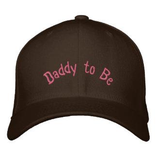 Custom Baseball Cap Daddy to Be