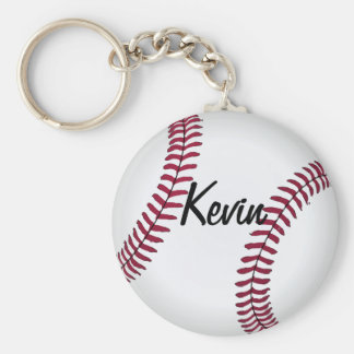 Custom Baseball Key Chain