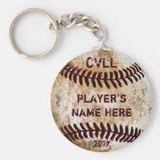 Custom Baseball Keychains for Baseball Team Gifts