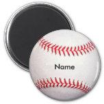 Custom Baseball Magnet