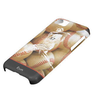 Custom Baseball Player iPhone Case