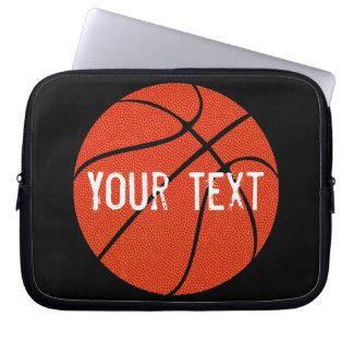 Custom Basketball Neoprene Laptop Sleeve